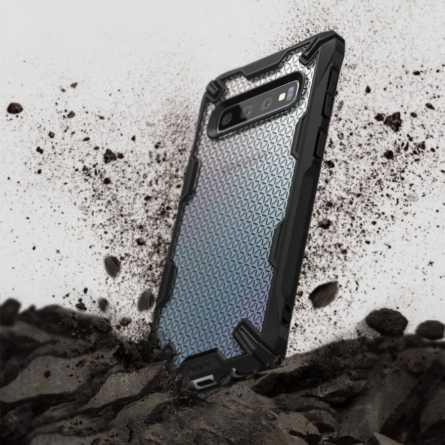 Ringke FUSION X Maskica za Galaxy S10 - Hexagon Black 30124