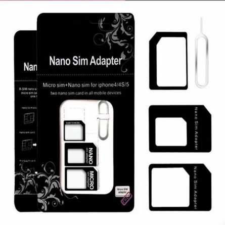 """Noosy"" Nano SIM na Micro SIM Adapter 4u1 21707"