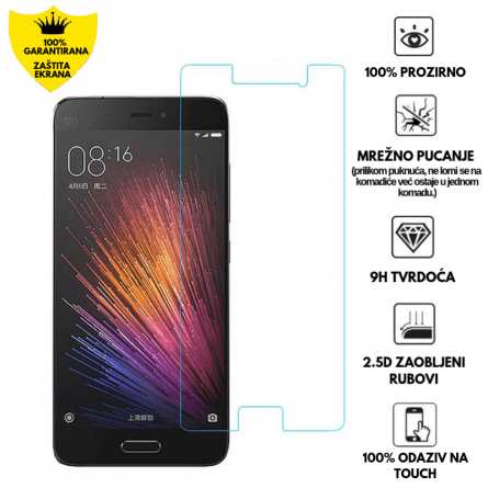 Kaljeno Staklo / Staklena Folija za Xiaomi Mi5 11919