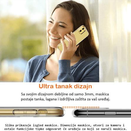 Ultra Tanka Prozirna Silikonska maskica za iPhone 11 31253
