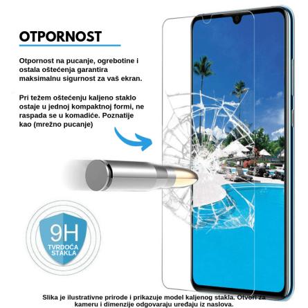 Kaljeno Staklo / Staklena Folija za Galaxy A7 (2018) 32414