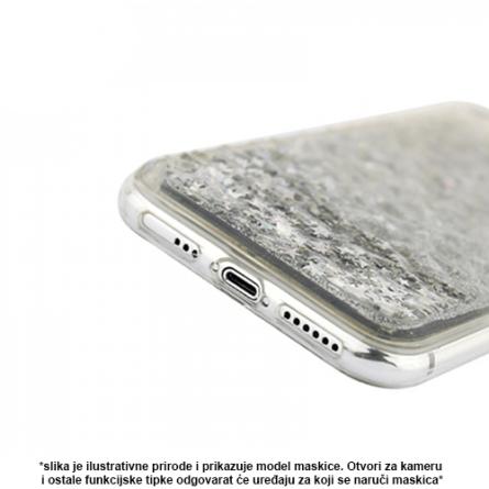 Liquid Diamond Silikonska maskica za Mate 20 Lite - Silver 37864