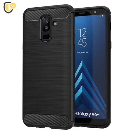 Silikonska Carbon Maskica za Galaxy A6 Plus (2018) 39888