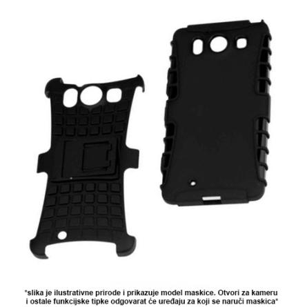 Defender Maskica za iPhone X/XS - Crna 44535