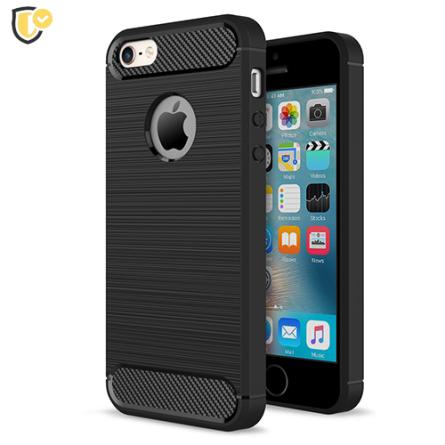Silikonska Carbon Maskica za iPhone 5c 39855