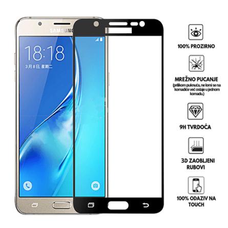 3D Zaobljeno Kaljeno Staklo za Galaxy J7 (2017) 34063