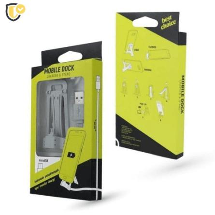 Držač / Punjač za Mobitel s MicroUSB Kabelom 42083