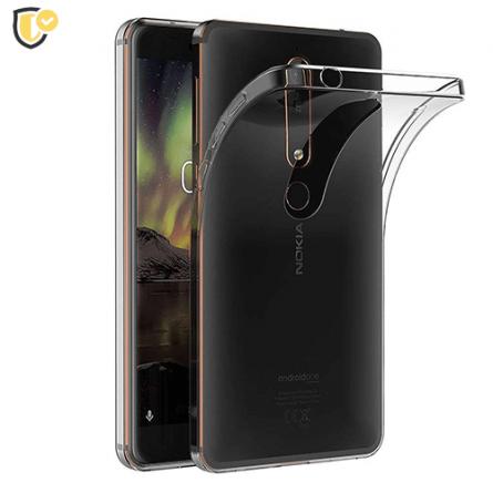 Ultra tanka Prozirna Silikonska maskica za Nokia 6.1 / Nokia 6 (2018) 31298
