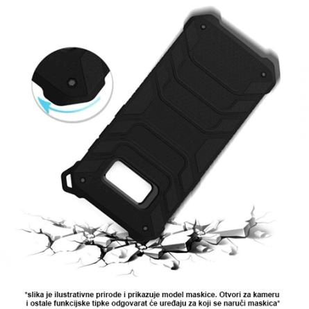 Beeyo Protector Silikonska maskica za Samsung Galaxy S8 - Crna 44461