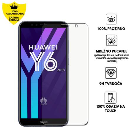 Kaljeno Staklo / Staklena Folija za Huawei Y6 2018 139843